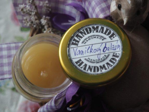 vanilkový balzám pro hebkou a jemnou pokožku