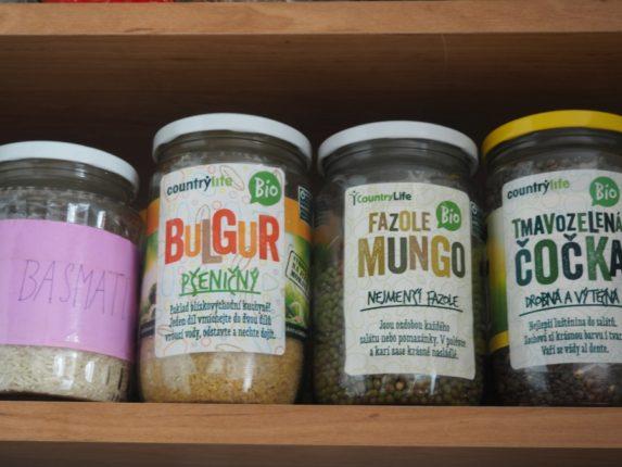 zero waste skladování potravin