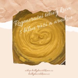 Regenerační tělový krém s bílou růží a arnikou
